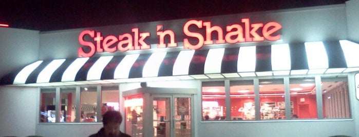 Steak 'n Shake is one of Tempat yang Disukai AJ.
