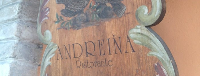 Ristorante Andreina is one of 2018_daprovare.
