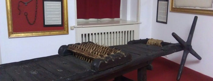Museum of Medieval Torture Instruments is one of Tempat yang Disukai Jesus.