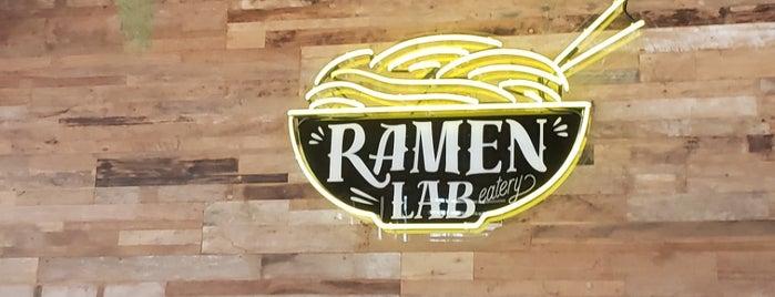 Ramen Lab Eatery is one of Posti che sono piaciuti a Marc.