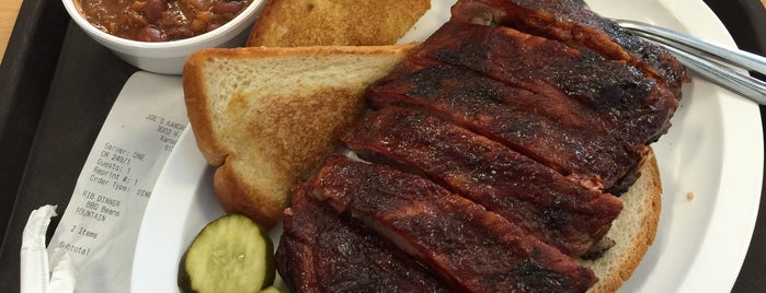 Joe's Kansas City Bar-B-Que is one of America's Top BBQ Joints.