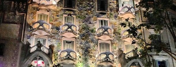 Passeig de Gràcia is one of Barcelona.