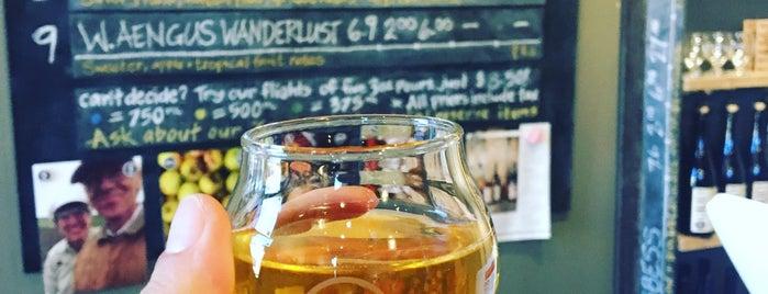 Liberty Ciderworks is one of Joey D's 50 Favorite Spokane Spots.