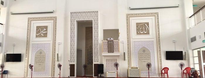 Masjid Abu Hurairah is one of masjid.