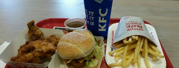 KFC is one of Carl 님이 좋아한 장소.