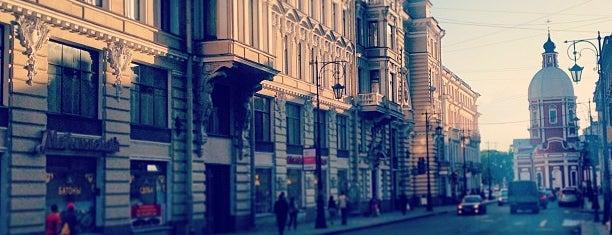 Улица Пестеля is one of Saint Petersburg.