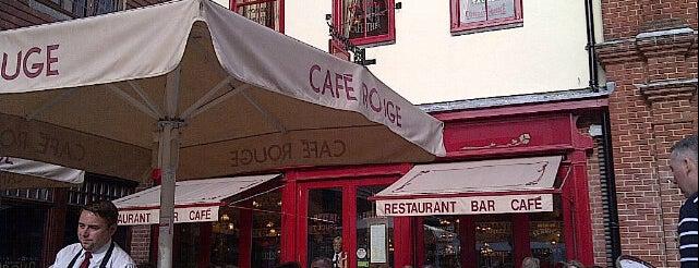 Café Rouge is one of Nicolas 님이 좋아한 장소.