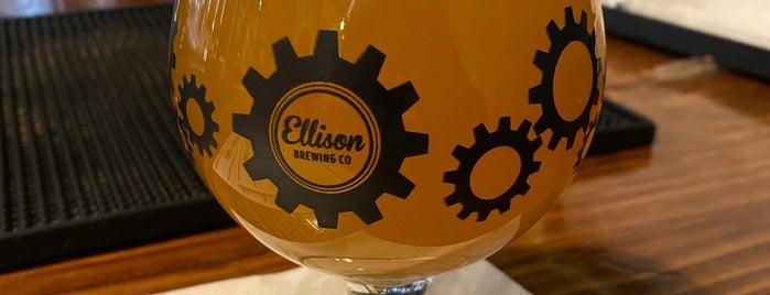 Ellison Brewery + Spirits is one of Tempat yang Disukai Lisa.