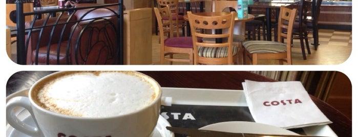 Costa Coffee is one of สถานที่ที่ Martin ถูกใจ.