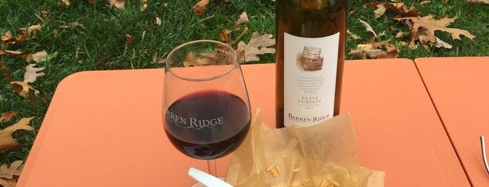 Barren Ridge Vineyard is one of nc2015.