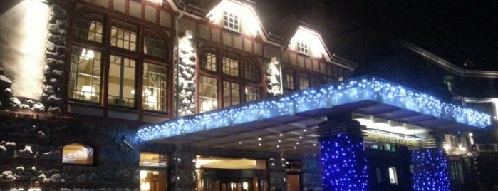 Grand Hotel Kempinski High Tatras is one of TREND Top restaurants.