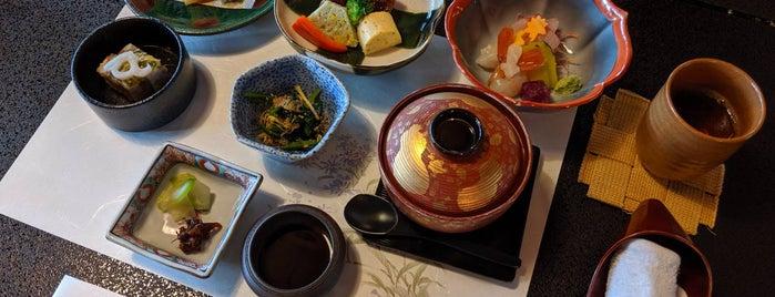 奥膳懐石 翠明荘 is one of Kazuo : понравившиеся места.