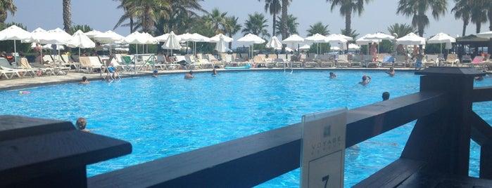 Beach Pool Bar Sorgun Voyage is one of Lugares guardados de Aslı.