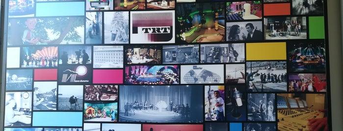 TRT Yayıncılık Tarihi Müzesi is one of Ankara Sanat.