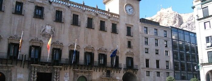 Plaza del Ayuntamiento is one of Alicante.
