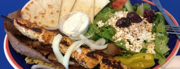 Papouli's Greek Grill is one of Places I recommend.