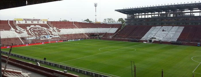 Estadio Ciudad de Lanús - Néstor Díaz Pérez (Club Atlético Lanús) is one of Nicolás : понравившиеся места.