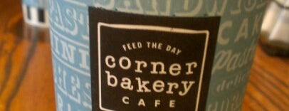 Corner Bakery Cafe is one of Coffee & Cafe's.