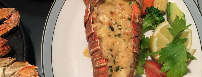 Golden Lobster is one of Seafood Riyadh.