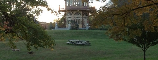 Patterson Park Pagoda is one of Off-Beat Baltimore.