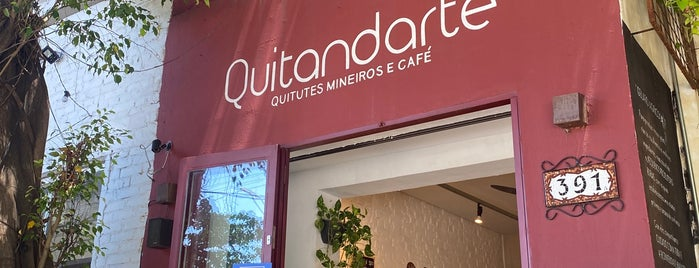 Quitand'arte is one of Café da Manhã.