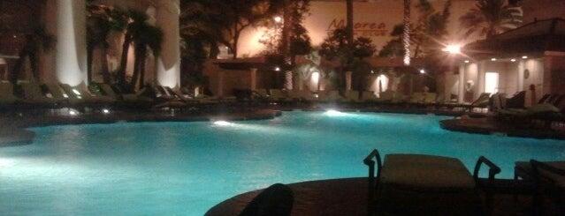 Four Seasons Hotel Las Vegas is one of Condé Nast Traveler Platinum Circle 2013.