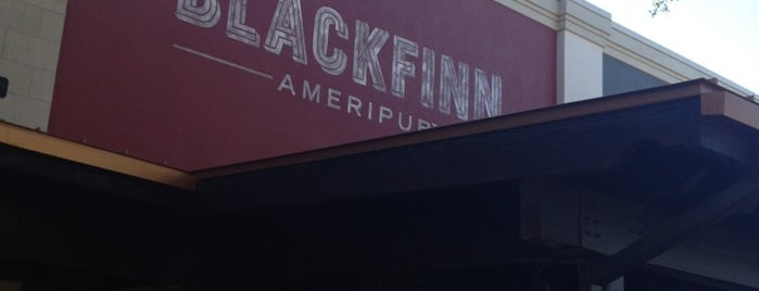 Blackfinn Ameripub is one of Austin Ghosts.