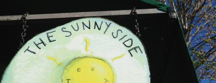 Sunny Side Cafe is one of สถานที่ที่บันทึกไว้ของ Jeanmarie.