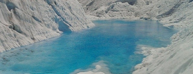 Glaciar Perito Moreno is one of Chile / Argentina.