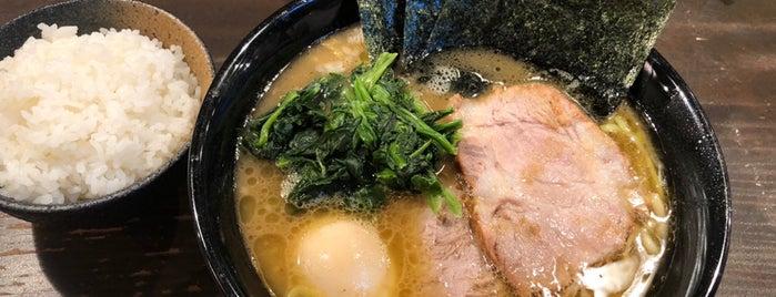 横浜家系ラーメン クックら is one of _h_t_i__e_K__さんのお気に入りスポット.