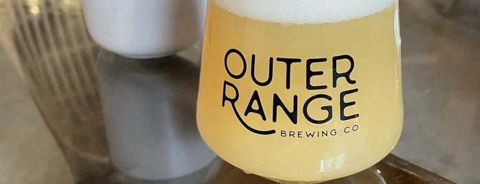 Outer Range Brewing is one of Tappin the Rockies...