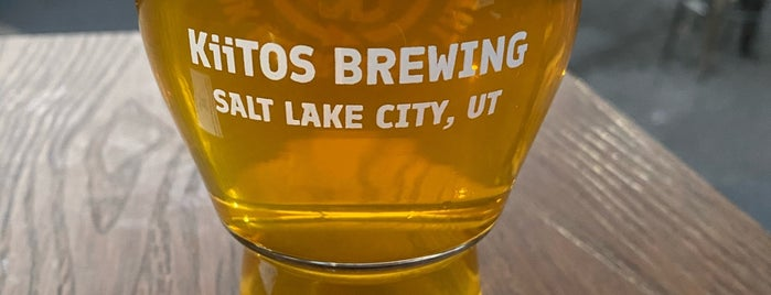 Kiitos Brewing is one of Salt Lake City.
