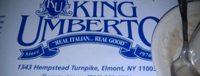 King Umberto Ristorante is one of Great places to visit with John & Rich.