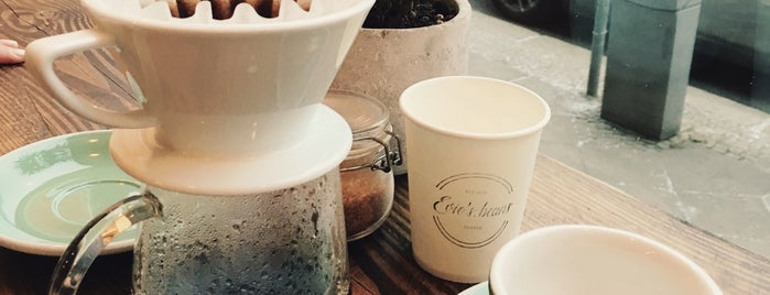 Evie's beans is one of Berlin Coffee.