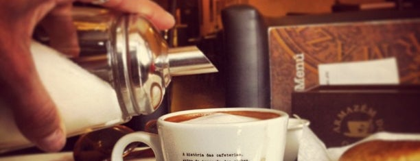 Armazém do Caffè is one of Rute'nin Kaydettiği Mekanlar.