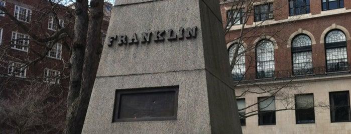 Benjamin Franklin's Family's Tomb is one of Boston: Fun + Recreation.