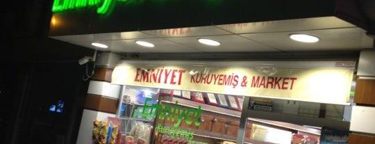 Emniyet Kuruyemiş & Şekerleme is one of สถานที่ที่บันทึกไว้ของ Emre.