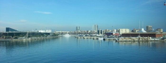Restaurante WTC Club Meet&Eat is one of Terrazas Barcelona.