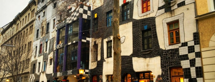KUNST HAUS WIEN. Museum Hundertwasser is one of Vienna.
