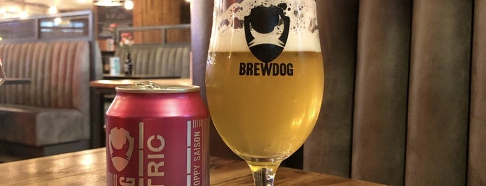 BrewDog Canary Wharf is one of London's Best for Beer.
