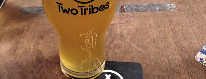 Two Tribes Brewhouse & Taproom is one of London's Best for Beer.
