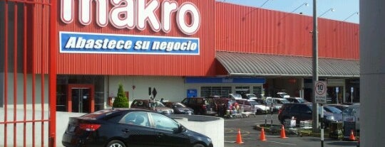 Makro is one of Lieux qui ont plu à Sebastian.