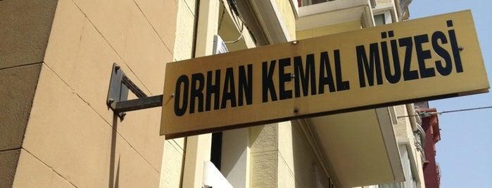Orhan Kemal Müzesi is one of Gezelim Görelim Eski İstanbul.