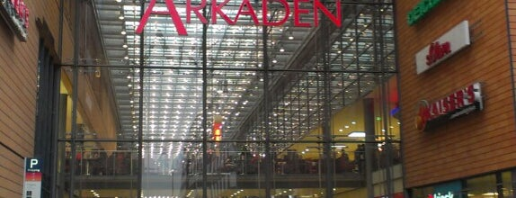 Potsdamer Platz Arkaden is one of Adrian : понравившиеся места.