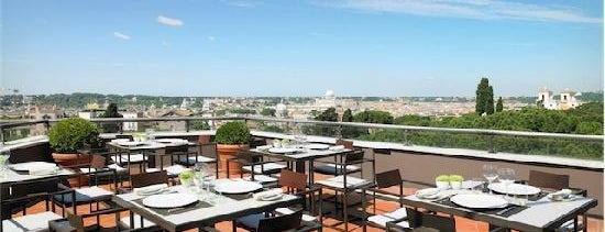 La Terrasse Cuisine & Lounge at Sofitel Rome is one of Italy.