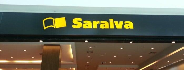 Saraiva MegaStore is one of Locais curtidos por Carolina.