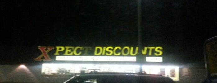 Xpect Discounts Grocery Store is one of Orte, die Lindsaye gefallen.