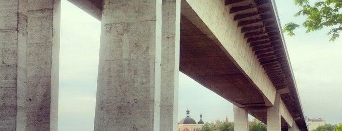 Puente de Nusle is one of Prague.