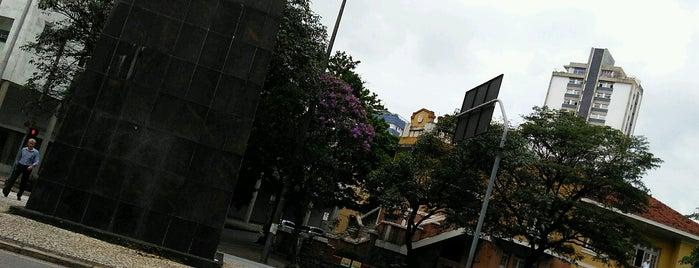 Praça Tiradentes is one of Lugares favoritos de dofono filho do caçador.