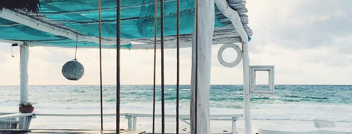 coco tulum beach bar is one of Playa Del Carmen.